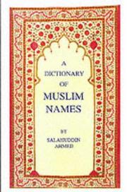 Cover of: The Dictionary of Muslim Names