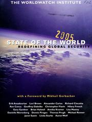 Cover of: State of the world 2005: a Worldwatch Institute Report on progress toward a sustainable society