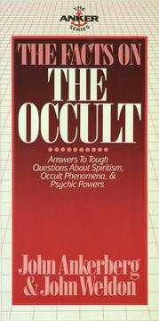 Cover of: The facts on the occult