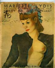Cover of: Mariette Lydis
