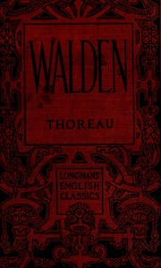 Cover of: Walden