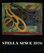 Cover of: Stella since 1970
