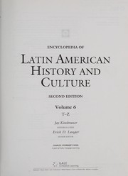 Cover of: Encyclopedia of Latin American history and culture