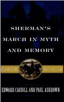 Cover of: Sherman's march in myth and memory