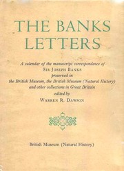 Cover of: The Banks letters