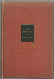 Cover of: The tragedies of Shakespeare