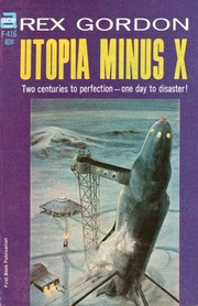 Cover of: Utopia minus X