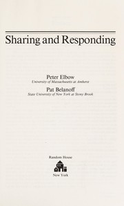 Cover of: Sharing and responding