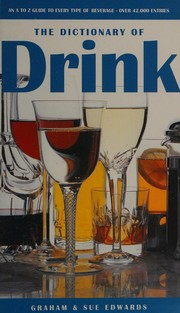 Cover of: The dictionary of drink