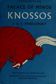Cover of: A handbook to the palace of Minos, Knossus: with its dependencies.