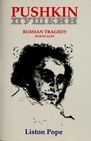 Cover of: Pushkin