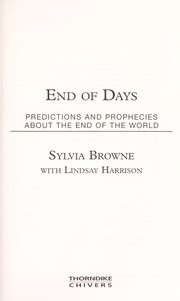 Cover of: End of days: predictions and prophecies about the end of the world