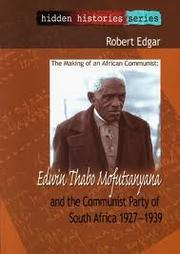 Cover of: The making of an African Communist