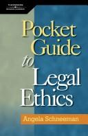 Cover of: Pocket guide to legal ethics