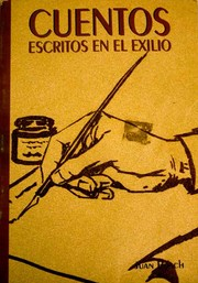 Cover of: Cuentos: escritos en el exilio