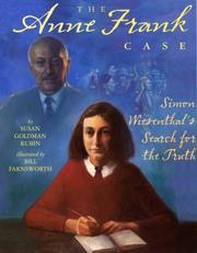 Cover of: The Anne Frank Case: Simon Wiesenthal's Search for the Truth