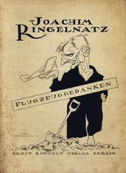 Cover of: Flugzeuggedanken