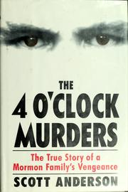 Cover of: The 4 o'clock murders