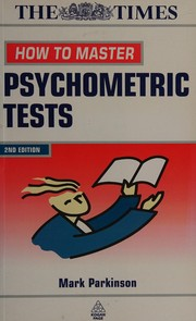Cover of: How to Master Psychometric Tests