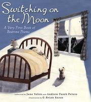 Cover of: Switching on the moon: a very first book of bedtime poems