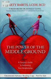 Cover of: The power of the middle ground
