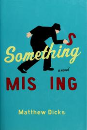Cover of: Something missing