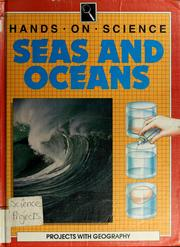 Cover of: Seas and oceans