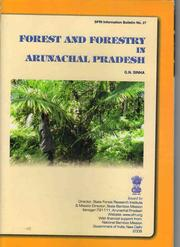 Cover of: Forest and forestry in Arunachal Pradesh