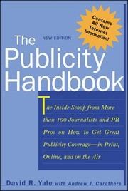 Cover of: The publicity handbook