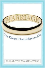 Cover of: Marriage