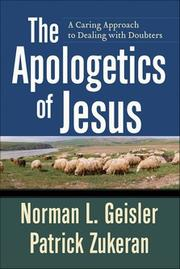 Cover of: The apologetics of Jesus