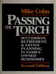 Cover of: Passing the torch