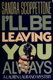 Cover of: I'll be leaving you always