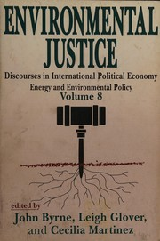 Cover of: Environmental justice