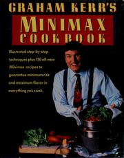 Cover of: Graham Kerr's minimax cookbook