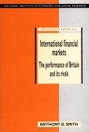 Cover of: International financial markets