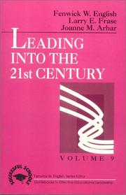 Cover of: Leading into the 21st century