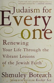 Cover of: Judaism for everyone