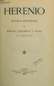 Cover of: Herenio