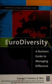 Cover of: Eurodiversity