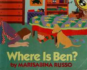 Cover of: Where is Ben?