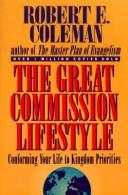 Cover of: The great commission lifestyle