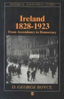 Cover of: Ireland, 1828-1923