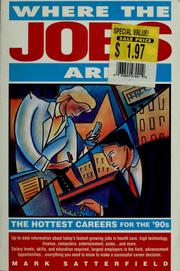 Cover of: Where the jobs are