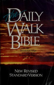 Cover of: The Daily walk Bible