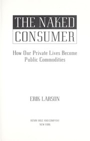 Cover of: The naked consumer