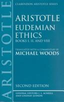 Cover of: Eudemian Ethics