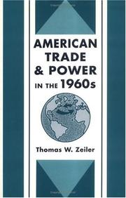 Cover of: American trade and power in the 1960's
