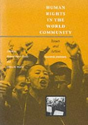 Cover of: Human rights in the world community