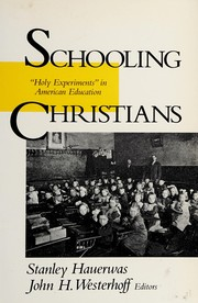 Cover of: Schooling Christians